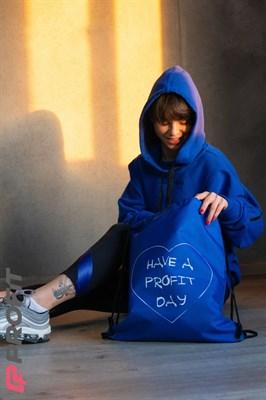 """Рюкзак """"Have a Profit day"""" (Синий) - фото 4739"""