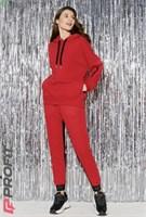 Спортивный костюм 020.08 (Красный 40-42)