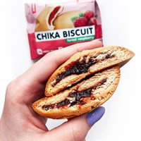 """ChikaBiscuit Печенье с начинкой """"Лесная малина"""""""