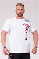 Мужская футболка Nebbia 171 white M
